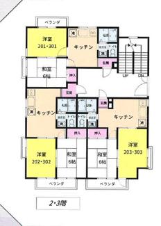 【間取り】千葉市若葉区みつわ台一棟アパート