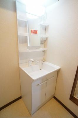 洗面化粧台 室内洗濯機置場
