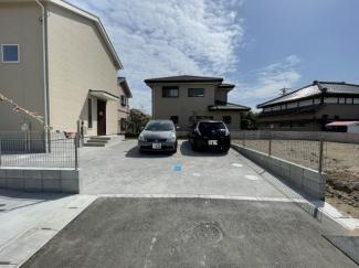 【駐車場】茂原市早野新田 新築一戸建て 外房線茂原駅
