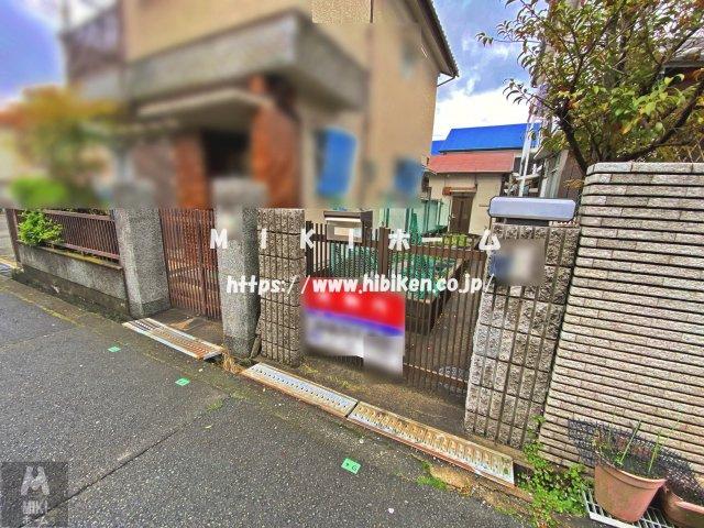【外観】箕面市桜井3丁目 土地