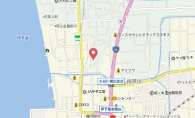 【地図】クレシア南黒田