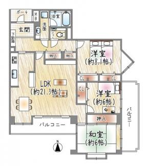 ◆「川西能勢口」駅~徒歩9分◆ユニヴェール花屋敷壱号館♪