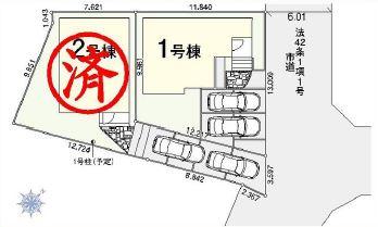 【区画図】見沼区春岡