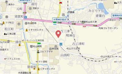 【地図】コンフォートN