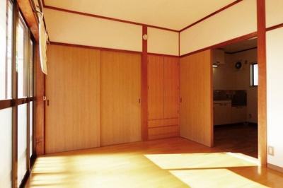 【寝室】コーポハピネス