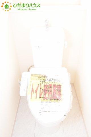 【トイレ】鴻巣市滝馬室 新築一戸建て リーブルガーデン 01