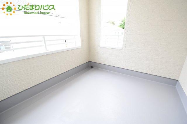 【バルコニー】鴻巣市滝馬室 新築一戸建て リーブルガーデン 01