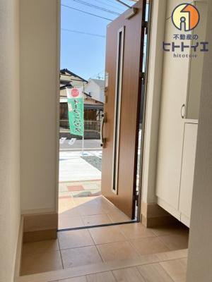【玄関】八女市室岡第1