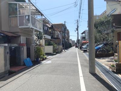 【前面道路含む現地写真】甲子園浜田町 中古戸建