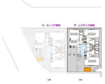 【区画図】ザ・レジデンス岩槻