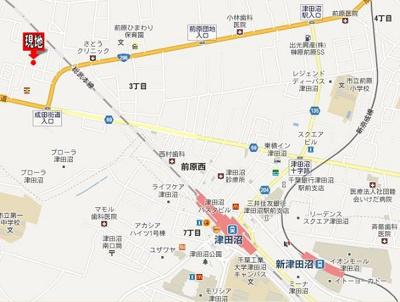 【地図】第2プローデンス前原