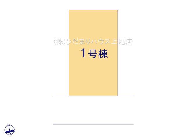【区画図】伊奈町栄1丁目 新築一戸建て リナージュ 01