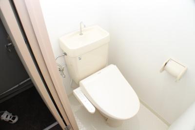 【トイレ】ツインコート平野2番館(事務所)