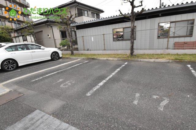 【駐車場】鴻巣市三ツ木 中古マンション チサンマンション北鴻巣