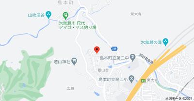 【地図】若山台住宅33号棟 (株)Roots