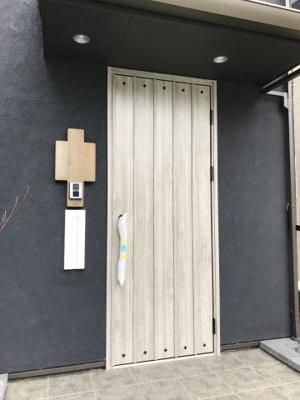 【玄関】大津市下阪本4丁目2-34 新築分譲