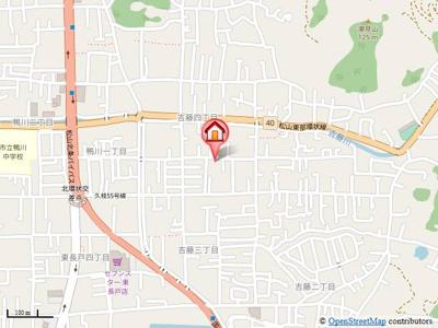 【地図】パルテノン吉藤B・