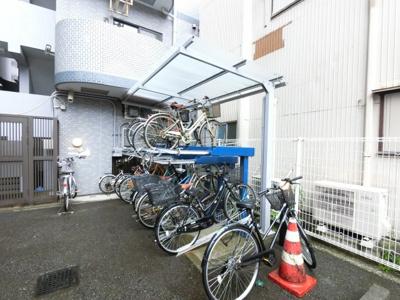 自転車置き場スペースです。