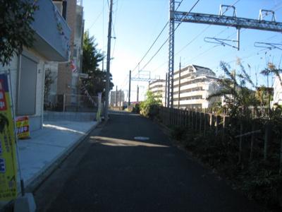 【前面道路含む現地写真】さいたま市大宮区高鼻町第4期