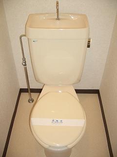 【トイレ】ハイツ矢賀新町Ⅰ
