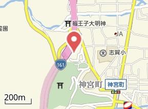 【地図】ロータリーマンション西大津ラクスヒルズ