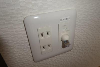無料インターネット完備。