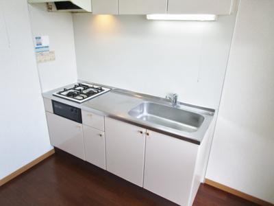 【キッチン】レオパレス北六甲