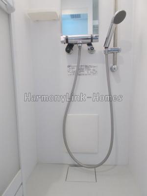 ハーモニーテラス仲宿Ⅲのコンパクトで使いやすいシャワールームです☆