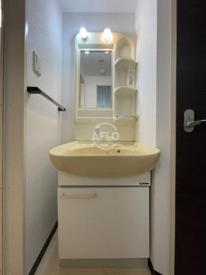 グランドステージ大阪城北 独立洗面台