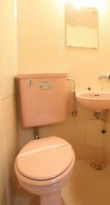 【トイレ】カレッジハイツ玉川