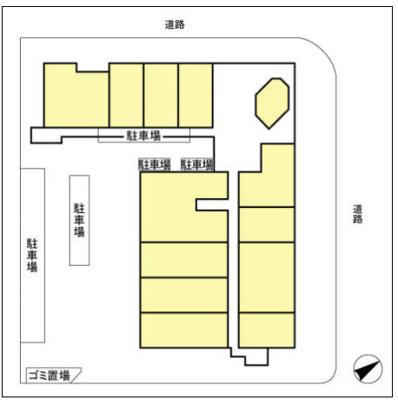【区画図】ファーストコーポ幕張本郷
