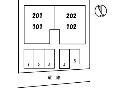 【区画図】シャトー 一の坂