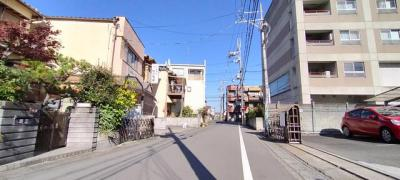 【前面道路含む現地写真】伏見区久我本町