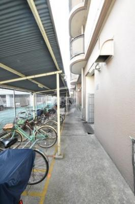 朝日プラザ堺東 駐輪場