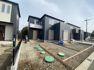 きれいな街並みの大型開発分譲住宅全24棟の新築一戸建てです。