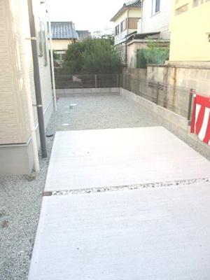 【駐車場】明石市沢野2丁目新築戸建
