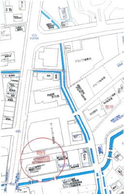 【地図】十合ビル