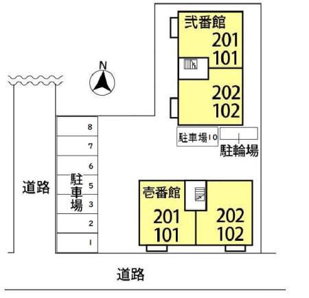 【区画図】SKT 壱番館