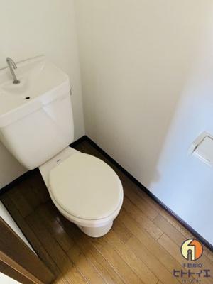 清潔感のあるトイレです