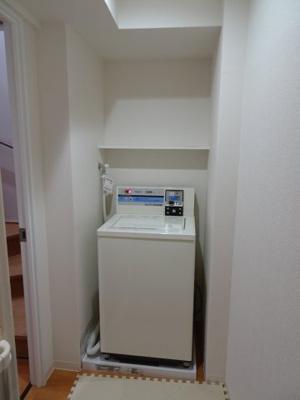 橋本荘 コイン洗濯室