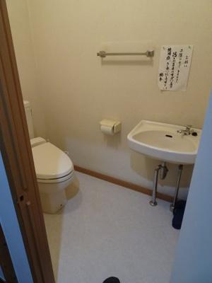 橋本荘 共同トイレ