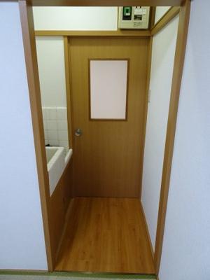橋本荘 室内玄関