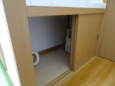 橋本荘 キッチン下