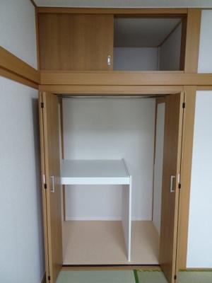 橋本荘 収納スペースはたっぷり入ります