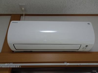 橋本荘 エアコンもしっかり完備