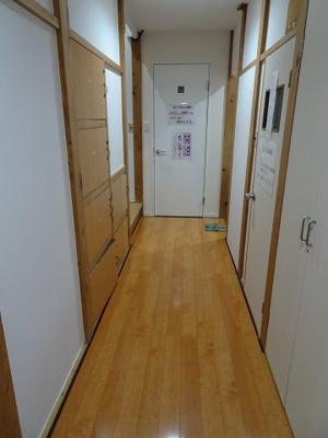 橋本荘 1F共用廊下