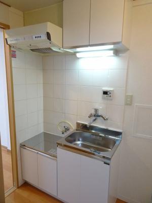 マンション太田 キッチンはガスコンロ設置可のワイドキッチン