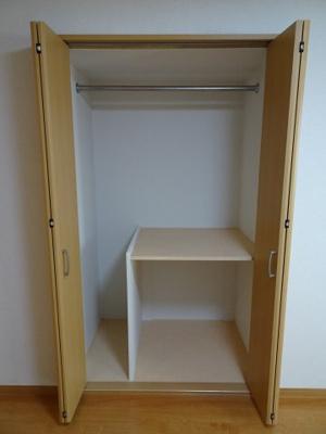 マンション太田 収納スペースはたっぷり入ります