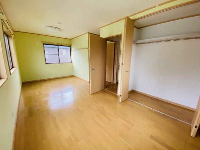 お子様が大きくなった時には2部屋に間仕切ることができます。