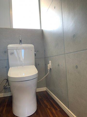 【トイレ】うるま市平良川中古戸建て